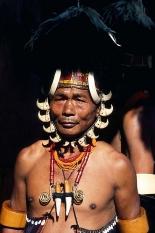 Naga tribe portraitINDIA
