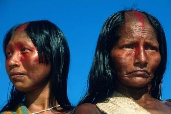 Gayapo indigenous portrait , Para regionBRAZIL