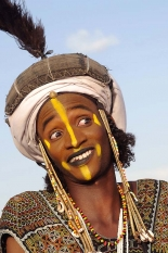 Borroro dancer Portrait, woodabee, Peulhs from the Sahel