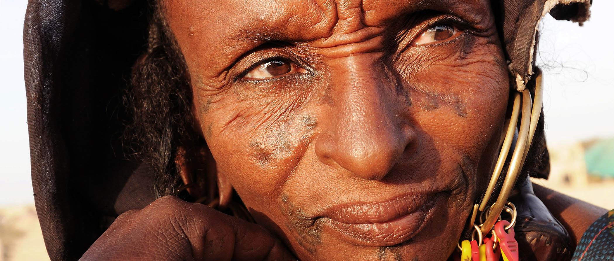 Portraits de Peulhs, nomades du sahel Peulhs portraits, sahel's nomad