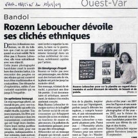 Article Var Matin Bandol